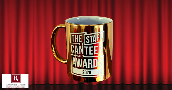 We're EXCITED to announce…The Staff Canteen Awards 2020 in association with Koppert Cress