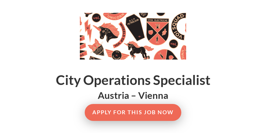 City Operations Specialist - VOI Technology AB