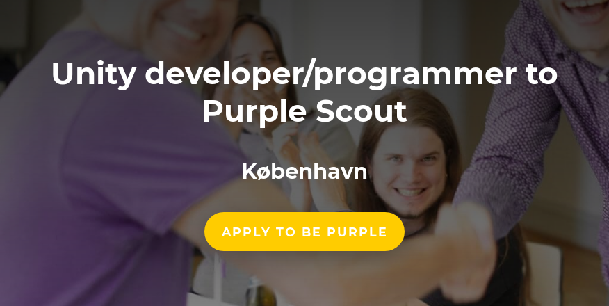 Unity developer/programmer to Purple Scout - Gigstep