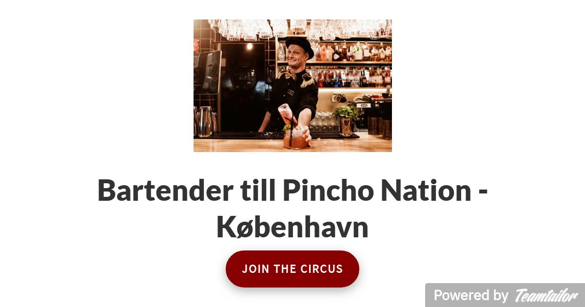 bartender søges kbh