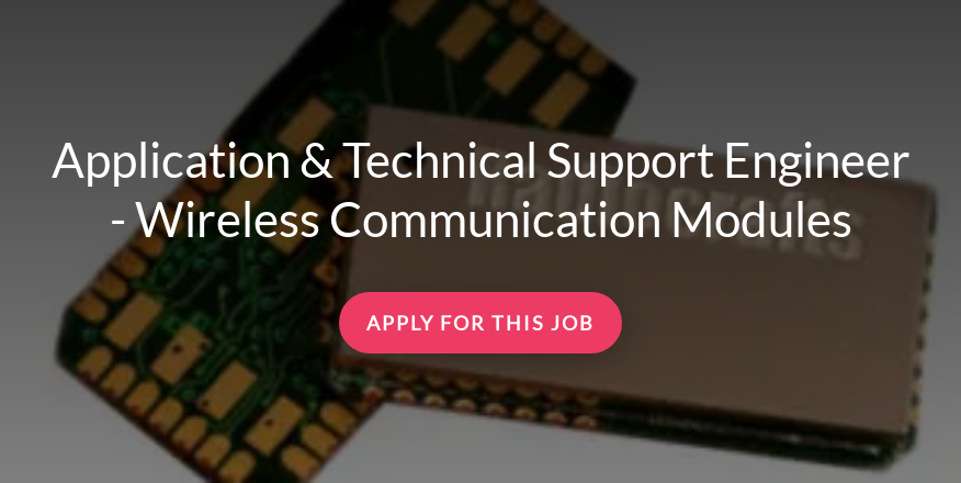 Application & Technical Support Engineer - Wireless