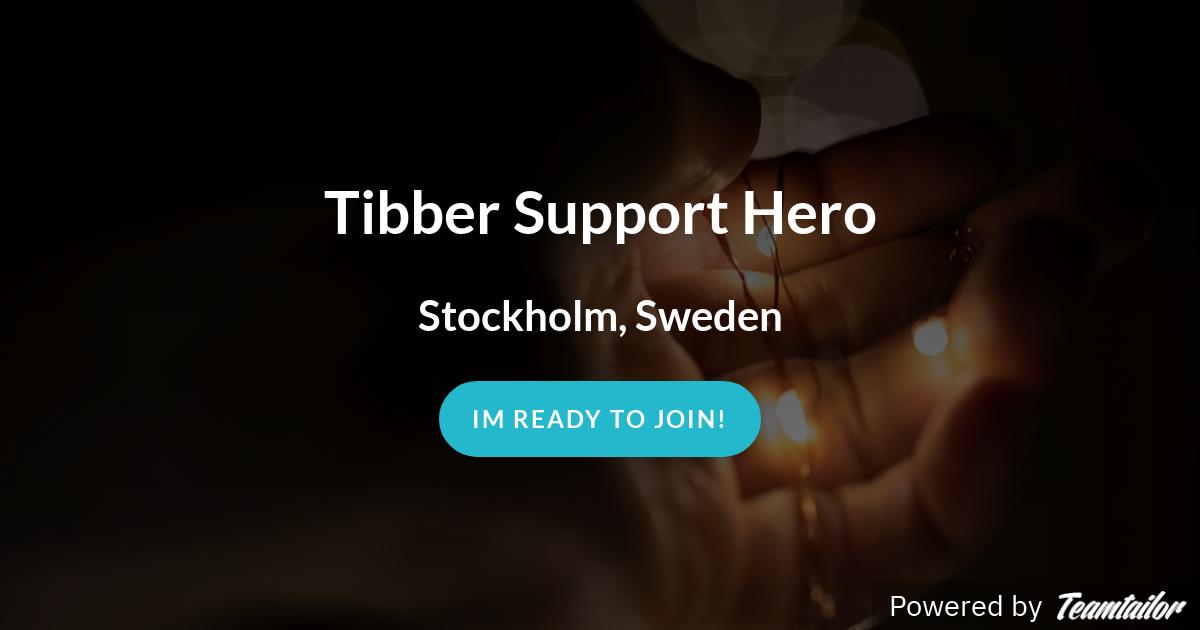 Tibber Support Hero - Tibber