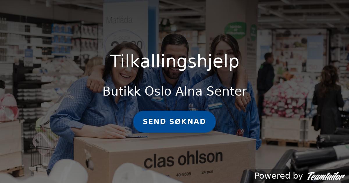 Uvanlig Tilkallingshjelp - Clas Ohlson Norge PU-48