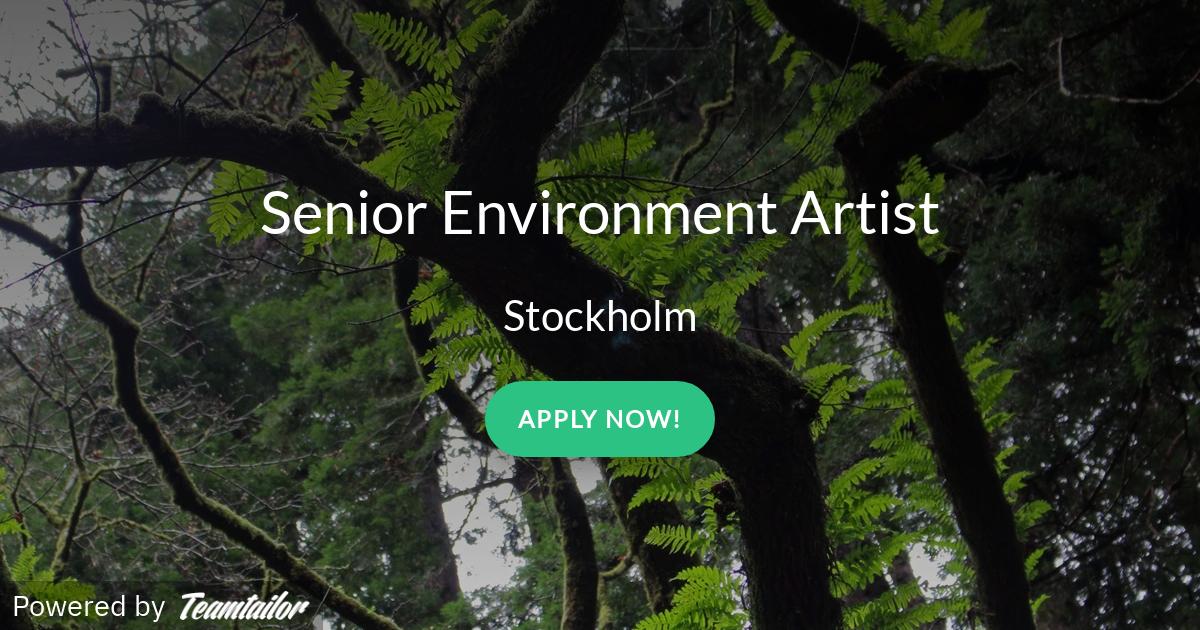 Senior Environment Artist - Arrowhead Game Studios
