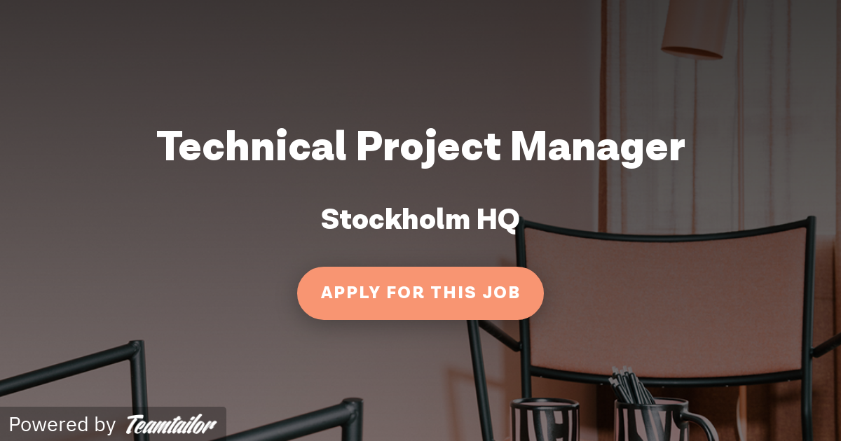 Technical Project Manager - Tink