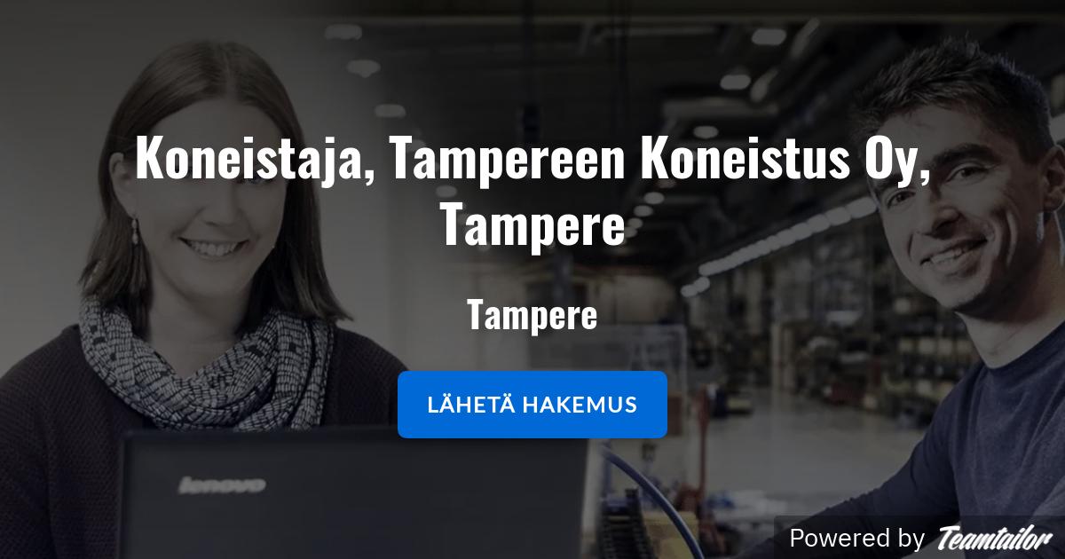 Koneistus Tampere