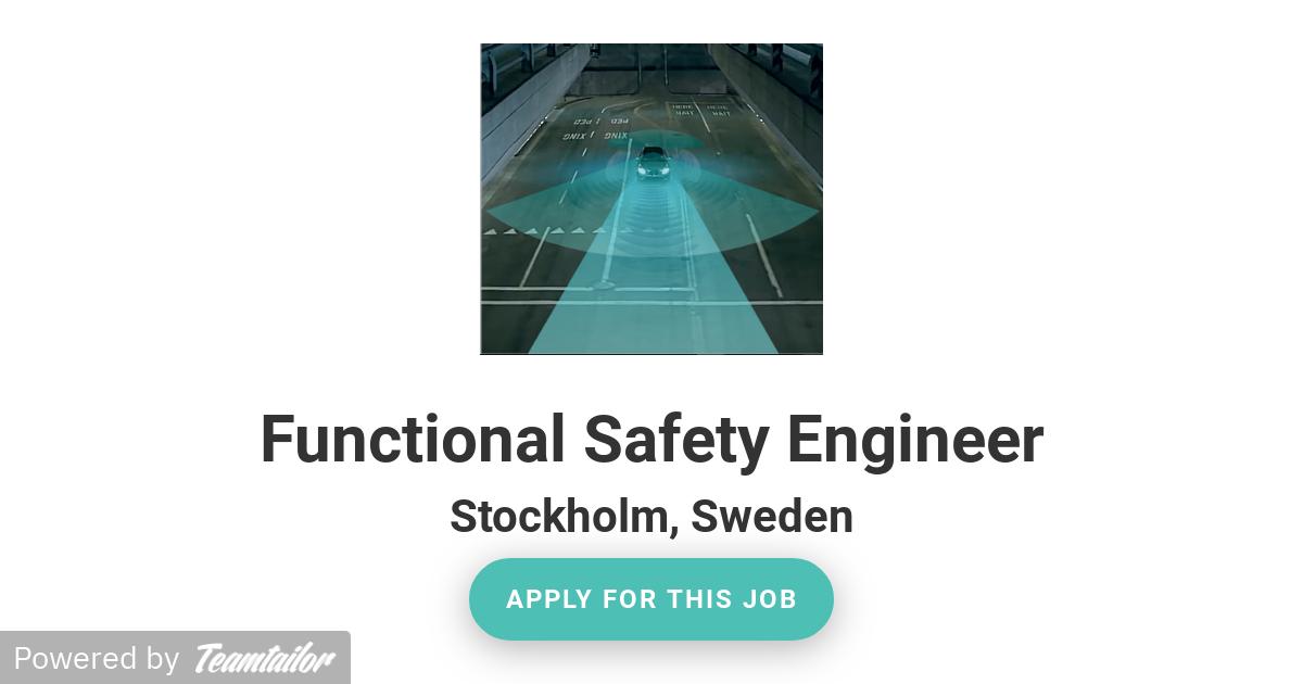 Functional Safety Engineer - Veoneer Sweden