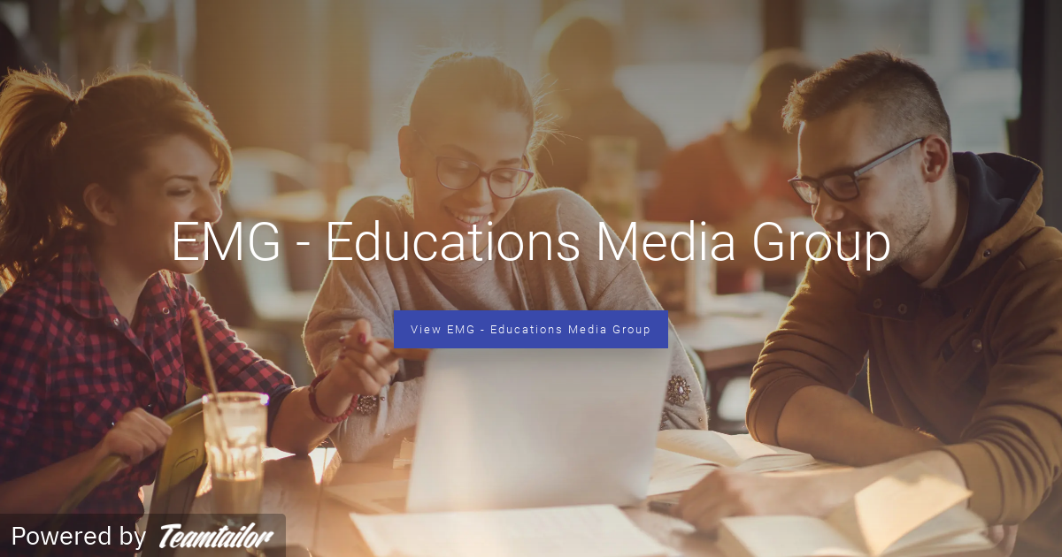 EMG - Educations Media Group - Join us in our vision to help