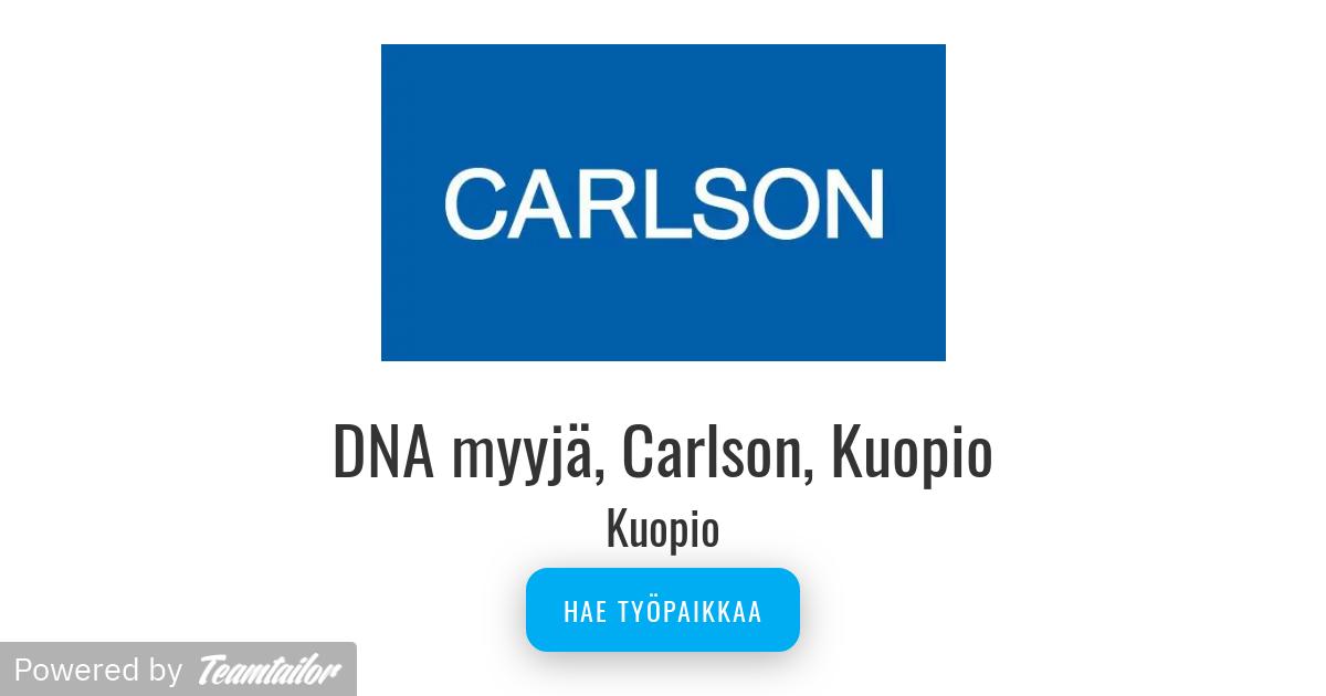Carlson Kuopio Aukiolo