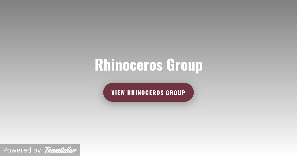 Rhinoceros Group - Come and join the herd