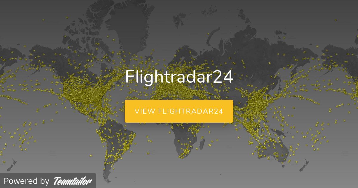 Flightradar24 - Join the crew