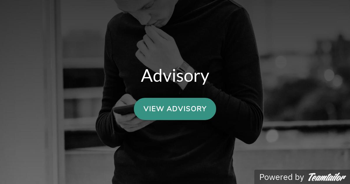 Advisory Startseite | Facebook