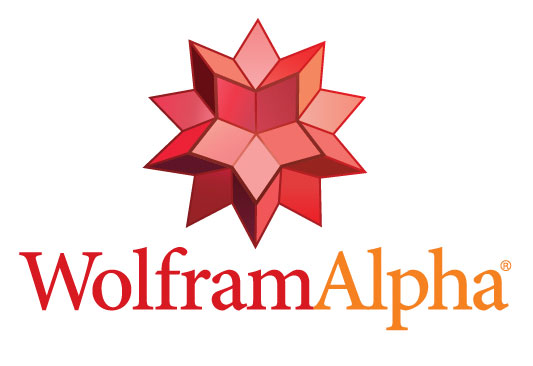 Wolfram Alpha logo stacked