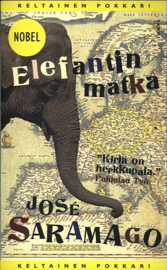 Saramago, José: Elefantin matka (KP76)