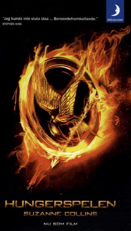Collins, Suzanne: Hungerspelen (Filmomslag)