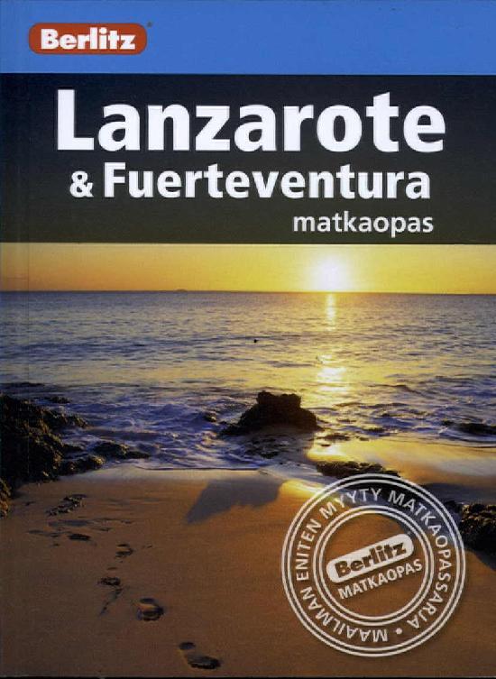 Berlitz matkaopas (kt) Lanzarote ja Fuenteventura