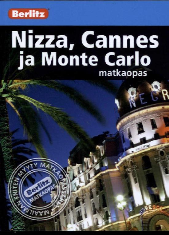 Berlitz matkaopas (kt) Nizza, Cannes ja Monte Carlo