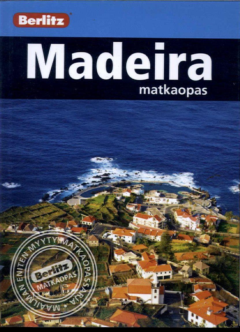 Berlitz matkaopas (kt) Madeira