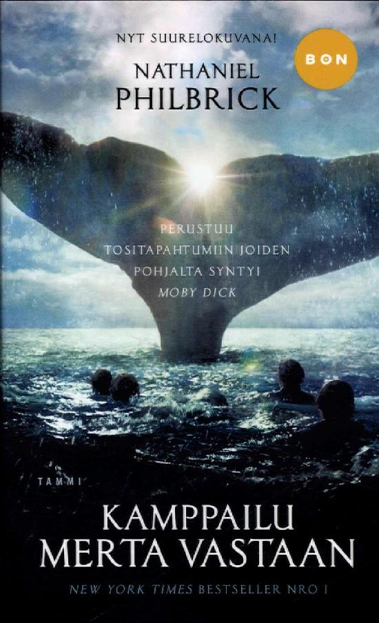Philbrick, Nathaniel: Kamppailu merta vastaan (Leffakansi)
