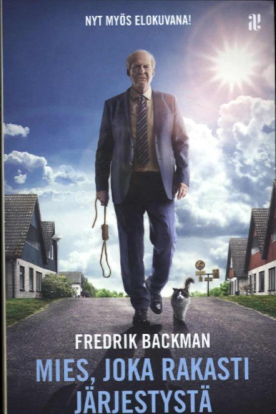 Backman, Fredrik: Mies joka rakasti järjestystä (Leffakansi)