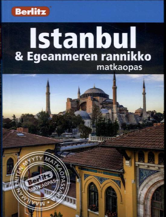 Berlitz matkaopas (kt) Istanbul ja Egeanmeren rannikko