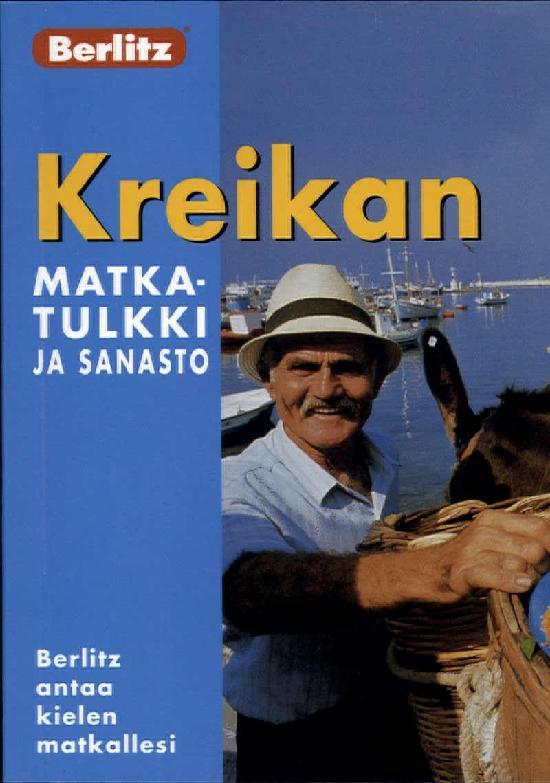 Berlitz matkaopas (kt) Kreikan matkatulkki ja sanasto