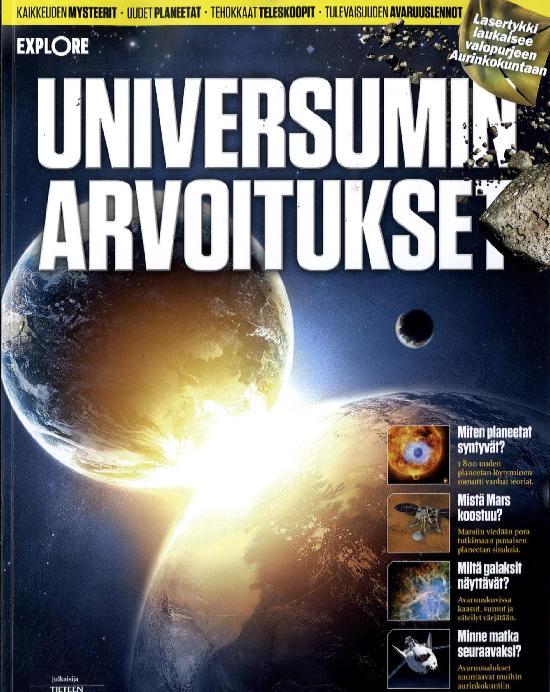 Explore Universumin arvoitukset