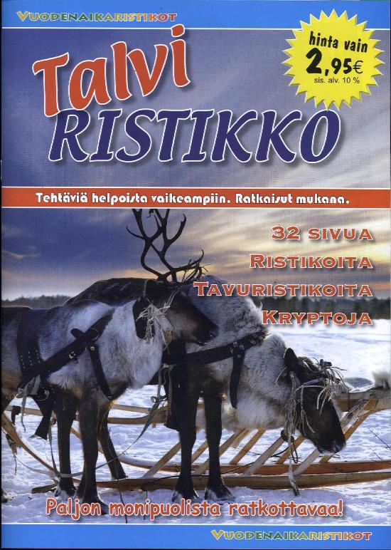 Vuodenaikaristikot -kirja Talviristikko 2017