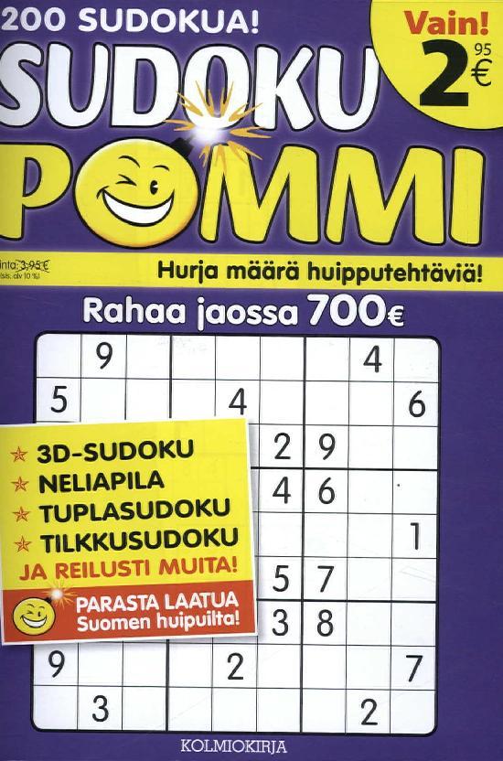 Sudoku-Pommi 3 2017