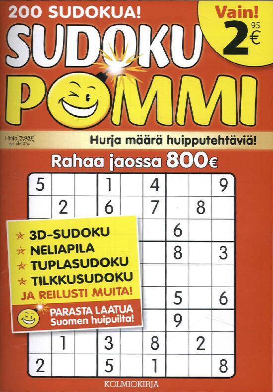 Sudoku-Pommi 4 2017
