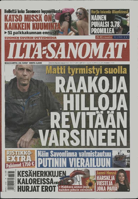 www iltasanomat iltalehti savonlinna