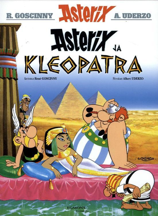 Asterix -sarjakuva-albumi Asterix ja Kleopatra