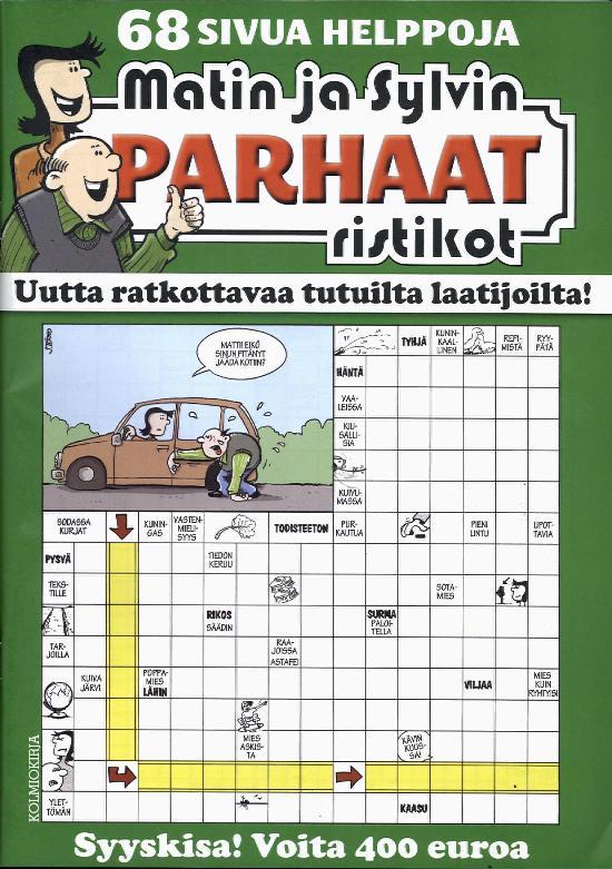 Matin ja Sylvin Parhaat Ristikot 3/2017
