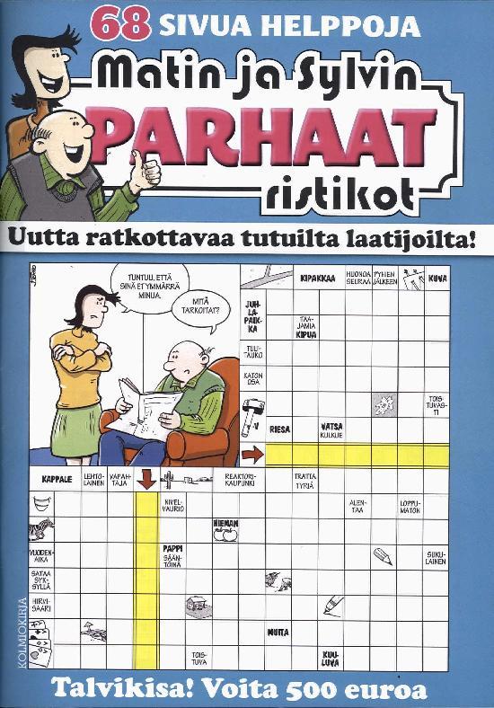 Matin ja Sylvin Parhaat Ristikot 4/2017