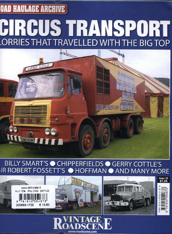 Road Haulage Archives  Circus transport Issue 12 2017