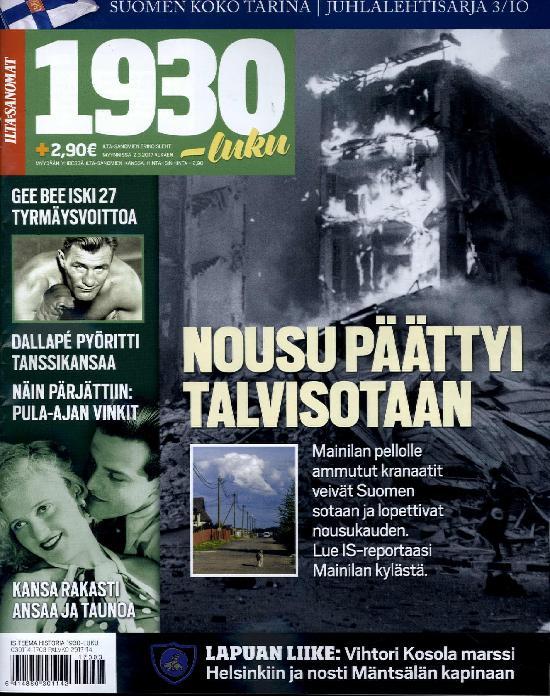 Ilta-Sanomat Teema Historia 1930-luku