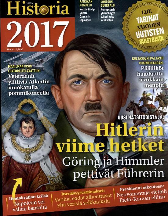 Tieteen Kuvalehti Historia Extra Hitlerin viime hetket 2017
