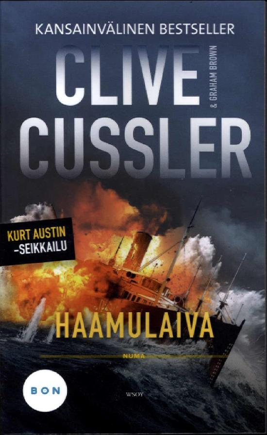 Brown, Graham & Cussler, Clive: Haamulaiva
