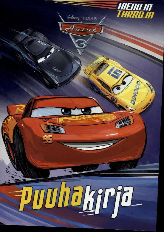 Walt Disney Puuhakirja Disney Disney Autot 3 puuhakirja