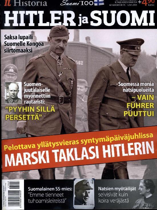 Iltalehti Teema Historia Hitler ja Suomi
