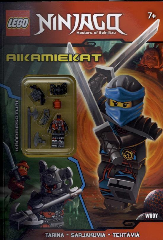 LEGO Ninjago -puuhakirja Aikamiekat