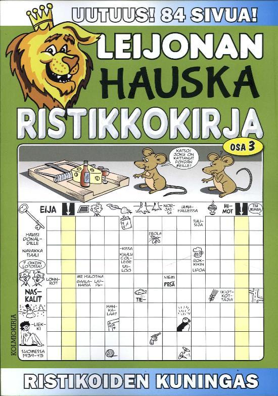Leijonan Hauska Ristikkokirja 3/2017