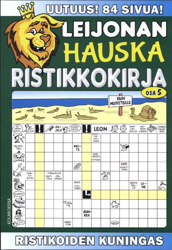 Leijonan Hauska Ristikkokirja OSA 5/2017