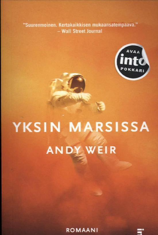 Weir, Andy: Yksin Marsissa