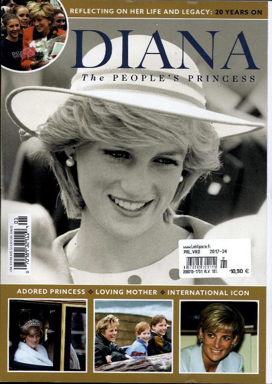 Diana The People's Princess 1701