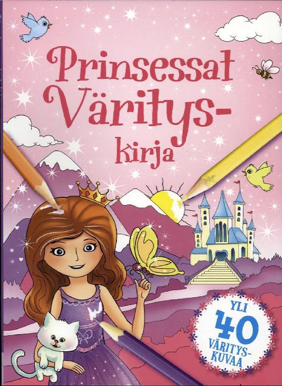 Värityskirja (Pen & Paper) Prinsessat