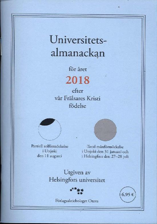 Universitets Almanackan 2018