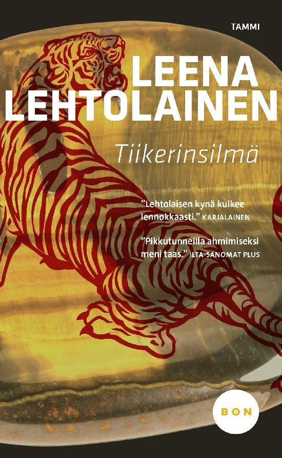 Lehtolainen, Leena: Tiikerinsilmä