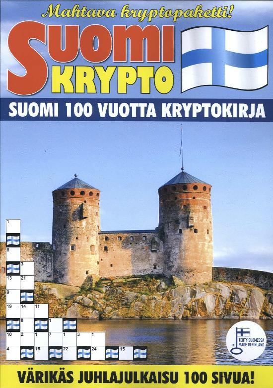 Suomi Krypto Suomi 100 Vuotta Kryptokirja 1 2017