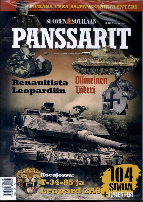 Suomen Sotilaan Panssarit 1 2017